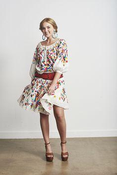 Roja Otomi Mini Skirt - Ya Ya Gurlz