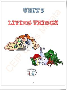 """Unidad 5 de Natural Science de de Primaria: """"The classification of living things"""" Science And Nature, Teaching Resources, United States, Learning"""