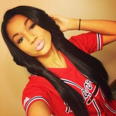 Brazilian Straight Human Hair Wigs Adjustable Pre Plucked top lace Closure HumanHair Wigs 100 Unprocessed Remy Hair For Black Women Love Hair, Gorgeous Hair, Beautiful, Weave Hairstyles, Straight Hairstyles, 2015 Hairstyles, Curly Hair Styles, Natural Hair Styles, Hair Laid