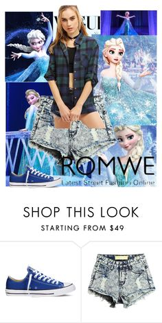 """Love Elsa (contest with prize)"" by loveelsa ❤ liked on Polyvore featuring Disney and Converse"
