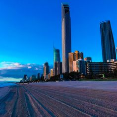 Surfers Paradise is a must visit. You're right on the beach with great wify