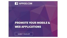 Appiod for Web is considered as one of the quality way to discover Web apps, iPhone/iPad apps, Android apps that are best for you. Their vibrant competence, proficiency and dependability, in catering to every conceivable app users through all available spheres and quality stratums of business, have made them as the best apps review site.