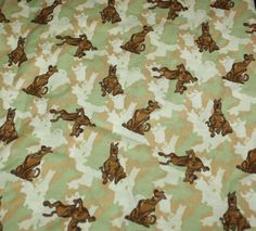 Think what you could do with this Scooby Doo fabric!!!