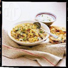 Dhal de lentilles corail aux légumes @ allrecipes.fr