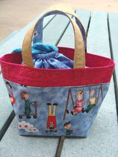 sewn lunch bag