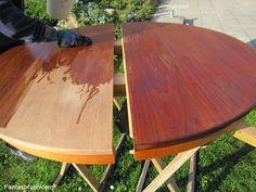 Fantast-fabrikken: Rensning af teakbord