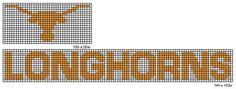 Crochet Fanatic: NCAA Logo and Name Plates: Q-T