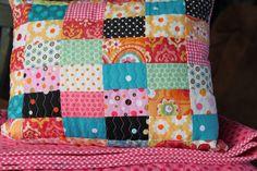 Stitch by Stitch: patchwork pillow