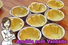 Tortinhas de Coco com Leite Condensado - Amélia com Vaidade