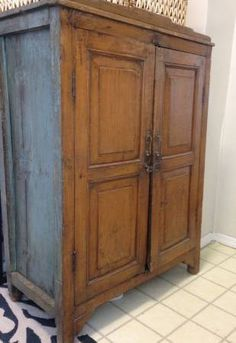 Antique Indian cabinet / cupboard - $250 (Brooklyn)