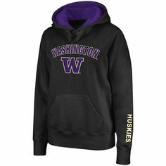 $34.95 (medium) Washington Huskies Women's Arch & Logo Hoodie - Purple