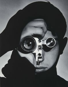 Photojournalist Dennis Stock,1955. Photographed by Andreas Feininger.