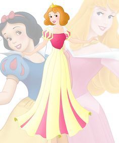 disney fusion: Aurora and Snow White by Willemijn1991 on DeviantArt