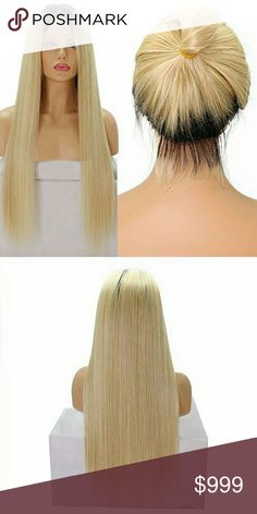 Blonde Ombre Human Hair Full Lace Wig 20-22 inches 1.100% Brazilian Human Hair, 20inch?Soft, Healthy End, No Dry, NO follicle, No tangle No shedding. 2.Natural color hair, can be dyed by yourself but do not suggest to do that often bleached knots 3.Average or other size lace front cap, adjustable and comfortable. Detailed size could be found in product description. 4.If you need large cap or small cap, please directly write to us within 12 hours after you make the payment 5.Using your…