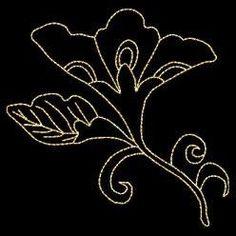 Fleurs orientales carré