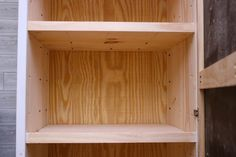 How to Build a Storage Cabinet in 9 Steps — SIMPLY HANDMADE Diy Projects Plans, Wood Shop Projects, Diy Furniture Projects, Home Projects, Woodworking Projects, Backyard Projects, Woodworking Bench, Furniture Stores, Furniture Plans