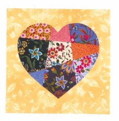 "TLC Home ""Crazy in Love Wedding Quilt Pattern"""