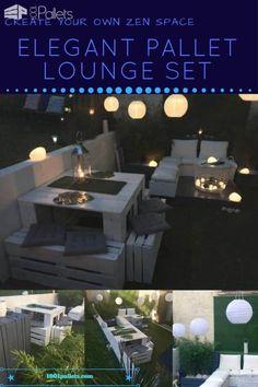Elegant Garden Lounge Set