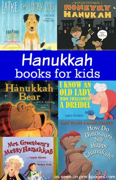 The Best Hanukkah Books for Preschool and Kindergarten. A great book list for teaching and learning about Haunkkah with young children.