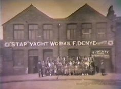 The Star Yacht Works, Marion Street, Birkenhead, England in Sailboats, Courses, Yachts, Liverpool, Pond, Nautical, Sailing, How To Memorize Things, Childhood