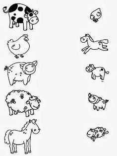 Z internetu - Sisa Stipa - Picasa Web Albums Más Toddler Learning Activities, Animal Activities, Preschool Activities, Teaching Kids, Kids Learning, Farm Unit, Free Kindergarten Worksheets, Pre Writing, Animals For Kids
