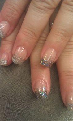 Rock Star glitter blend - Nail Art Gallery by NAILS Magazine