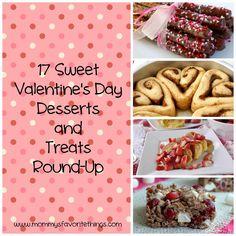 17 Sweet Valentine's Day Desserts and Treats Round-Up