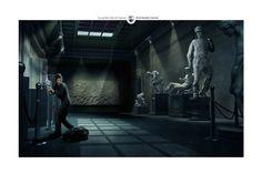 Odis Security Camera: Sculpture