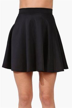 #Necessary Clothing       #Skirt                    #Skater #Skirt #Black     Rad Skater Skirt - Black                            http://www.seapai.com/product.aspx?PID=41496