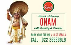JUST KERALA Multi Cuisine Restaurant & Bar @ Hotel Samraj ANDHERI east - CHAKALA For Reservations Call : 022 28363919 website - www.justkerala.co.in #kerala #mallu #india #celebration #malayali #festival#malayalam #fun #indian #traditional #instagood #mallus #southindian #love#sadhya #happyonam #southindia #keralam #sadya #happy #malayalis#mallugram #godsowncountrykerala #onam2017 #food #keralite#snakeboatrace #vallamkali #godsowncountry