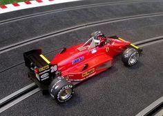 Ferrari 156/85 Formula 1 race car - new issue by Ostorero Slot (Stefan Johansson GP Canada 1985)