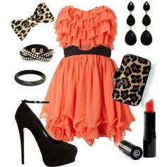 Absolutely love this! Everything! Especially the heels and dress! Need to find this!