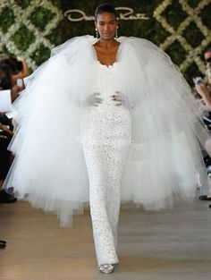 Oscar de la Renta-Wedding Keywords: #weddings #jevelweddingplanning Follow Us: www.jevelweddingplanning.com  www.facebook.com/jevelweddingplanning/