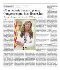 Entrevista en La Razón 28 julio 2013