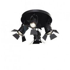 Lampy Ideal Lux - abanet.pl  Ciak PL4 - Ideal Lux - kinkiet/plafon nowoczesny  #modne #oświetlenie #nowoczesne #Kraków #sklep #lampy