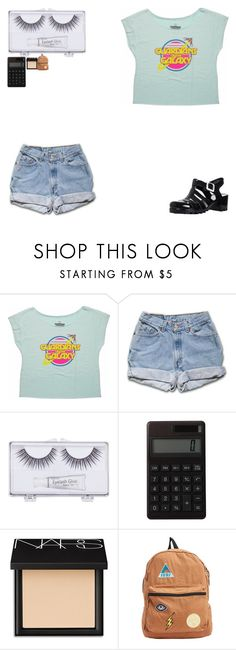 """""""ITS WEIRD HOW YOU FIND YOURSELF WHEN YOU HAVE NO ONE"""" by whovian-10th ❤ liked on Polyvore featuring Retrò, Sonia Kashuk, Muji, NARS Cosmetics and Billabong"""