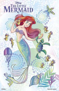 Yanoman Jigsaw Puzzle Disney Little Mermaid Beautiful Ariel Pieces) Disney Princess Ariel, Mermaid Disney, Disney Little Mermaids, Princess Art, Ariel The Little Mermaid, Disney Love, Arte Disney, Disney Magic, Disney Art
