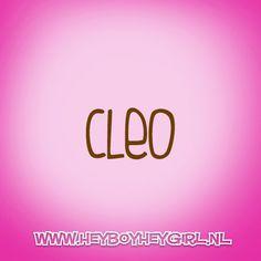 Cleo (Voor meer inspiratie, en unieke geboortekaartjes kijk op www.heyboyheygirl.nl)