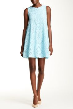 Lace Trapeze Dress by Everleigh on @nordstrom_rack