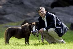 Michael Goessling from St Louis a breeder of miniature horses - Barcroft/Barcroft Media via Getty Images/Getty Images