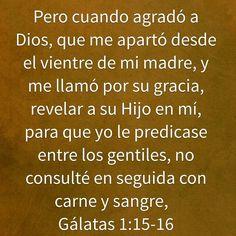Galatas 1:15-16