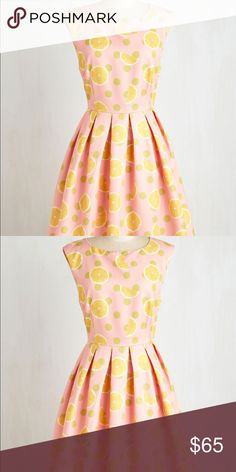 Dear Creatures Lemon Dress Dear Creatures Lemon Dress. Purchased from ModCloth, worn twice. Has been professionally dry cleaned. No flaws or stains! Dear Creatures Dresses