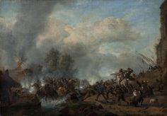 Philips Wouwerman - Bestorming van een fort