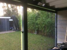 Verticaal veranda windscherm - Terras windscherm Windows, Gardens, Patio Shade, Ramen, Window