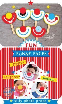 máscaras divertidas para cabine de fotos.