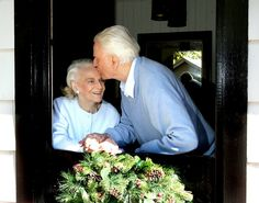 Such a lovely photo of Billy and Ruth Graham taken in 2006. Remember to cherish each moment with loved ones this Christmas