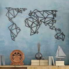 Carte murale en métal Artwall and Co ! A découvrir sur le shop et disponible en plusieurs couleurs ...