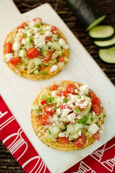 5. Mediterranean Breakfast Tostadas #Greatist http://greatist.com/health/new-year-detox-recipes