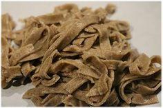 Recette de pâtes fraîches à la farine de sarrasin, des pâtes fraîches sans gluten