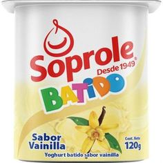 Yoghurt Soprole batido vainilla, 120 g - telemercados